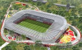 Itt vannak a debreceni stadion látványtervei