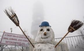 A Mátrába visszatért a tél