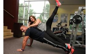 Együtt edz Czanik Balázs és Judy
