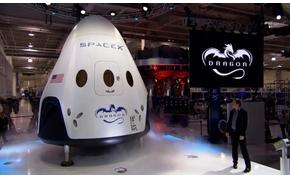 Bemutatták a legújabb amerikai űrkapszulát, amely igazi áttörést hozhat az űrhajózásban