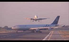 Másodperceken múlt a katasztrófa a barcelonai repülőtéren
