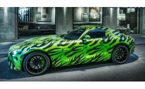 Új autót épít a Mercedes sportrészlege