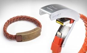 Divatos és hordható USB karkötő
