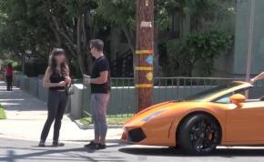 Itt van Vitaly legújabb, Lamborghinis átverése