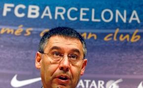 A Barcelona elnöke szerint a Real Madrid nem ellenfél