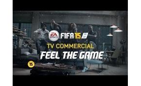 Ismét hatásvadász reklámmal érkezik a FIFA 15