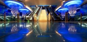 Dubaiban még a metró is luxus