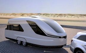 Futurisztikus lakókocsi 200 millióért