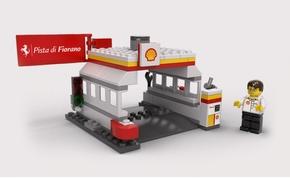 Legósított Ferrari lehet a gyűjtők legújabb vágya