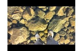 Láthatatlan jég borít egy tavat Szlovákiában