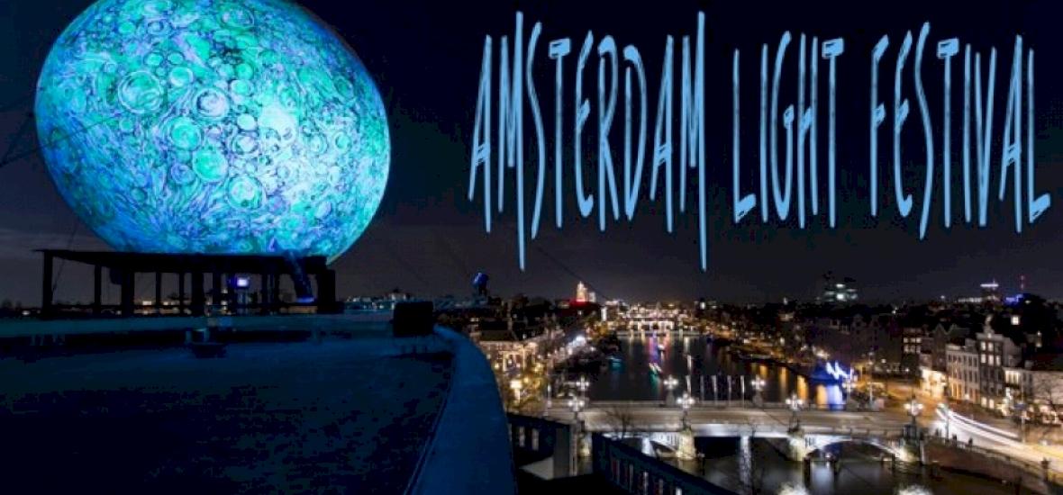 Zseniális video az amszterdami fényfesztiválról