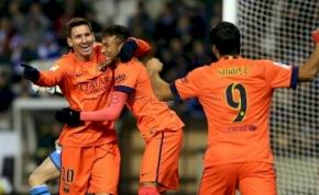 Messi mesterhármast szerzett, de Neymaré a hét mozdulata