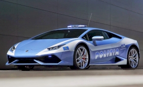 Új Lamborghinit kapott az olasz rendőrség