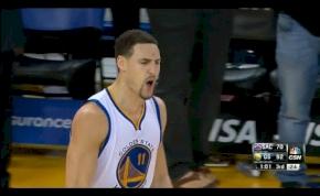 Újabb NBA rekord született - egy játékos dobott 37 pontot egy negyed alatt