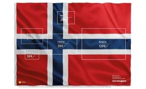 Zseniálisan kreatív reklám a Norvégoktól