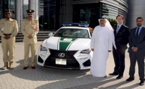 Ismét újított a dubaji rendőrség