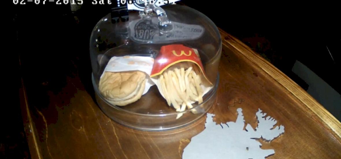 Hat év alatt sem bomlik le egy mekis burger?