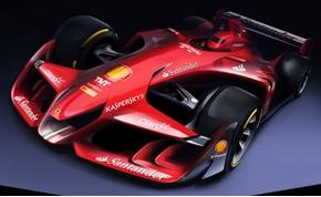 Ilyen a jövő F1-es autója? A Ferrari megmutatta koncepcióját!
