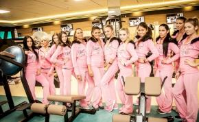 Miss Winter FACE Hungary 2015 döntősei a termünkben!