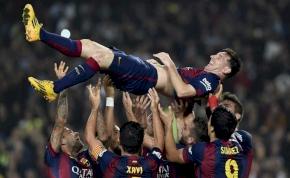 Messi 2015-ös statisztikája mindent felülmúló és felfoghatatlan