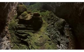 Íme a világ legnagyobb barlangjának sosem látott arca