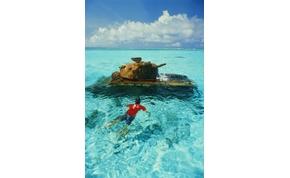 Háborús tankok csodálatos helyeken
