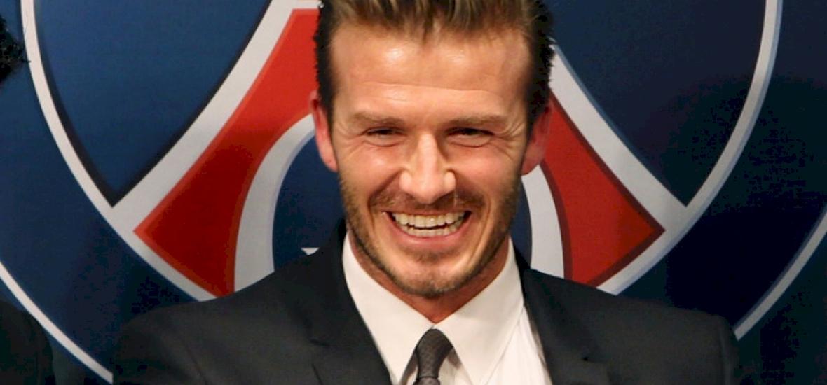 Zseniálisan oltotta szét a fiát David Beckham