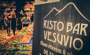 Olasz ízek varázsa a Vesuvio Risto Bar-ban!