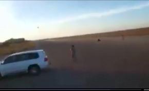 A líbiai légierő nem viccel: durva szórakozás egy MIG 23-assal