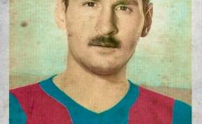Ilyen lett volna Messi és Ronaldo az 50-es években.