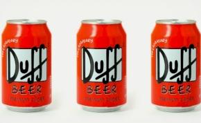 Megérkezett Simpson Család söre, Duff Beer a polcokon