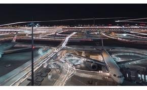 Csodálatos timelapse video a tokiói repülőtérről