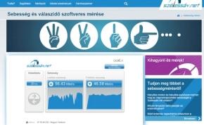 Netsebességmérő oldalt indított az NMHH