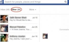 """Nem lesz többé """"egyéb"""" mappa a Facebookon"""