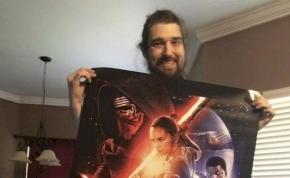 Egy haldokló rajongó már láthatta az új Star Wars filmet