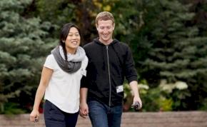 Zuckerberg és neje a jótékonyság mintaképei