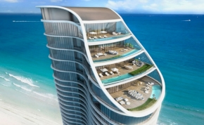 Medencés penthouse-okkal fogad Florida legmenőbb szállodája