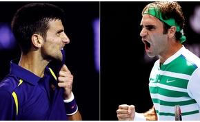 Holnap feszül egymásnak Djokovic és Federer