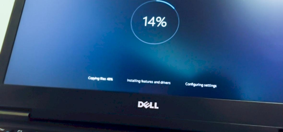 Magától fog elindulni a Windows 10 telepítése
