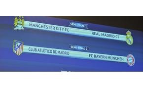 Így néz ki a Bajnokok Ligája és az Európa-liga elődöntője