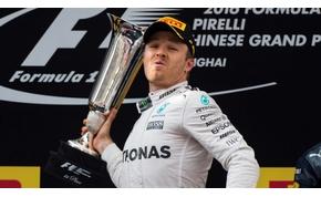 Rosberg összekapta magát, Sanghajban is nyert
