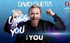 Több mint egymillió rajongó működött közre David Guetta 2016-os Eb-himnuszában