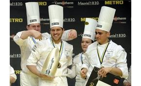 Bocuse d'Or: Magyarország és Széll Tamás csapata nyerte az európai döntőt