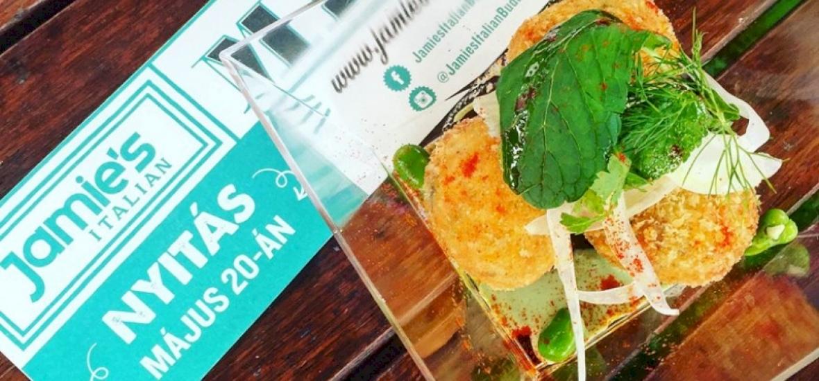 Május 20-án nyit Jamie Oliver budapesti étterme