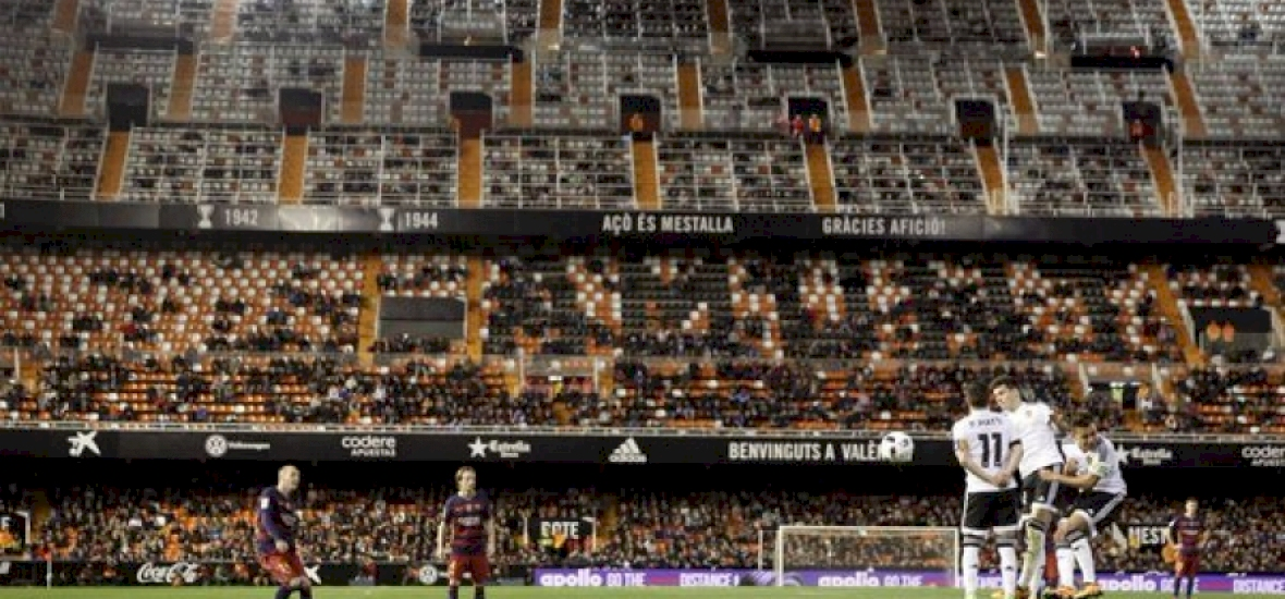 spanyol bajnokság üres székek nso