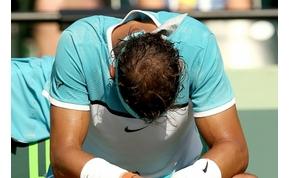 Nadalnak esélyesként kellett visszalépni a Roland Garroson