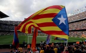 A Barcánál továbbra is tilos a katalán zászló