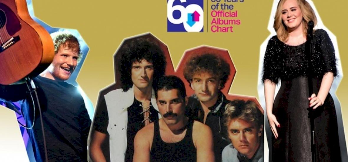 A Queen Greatest Hits albuma lett az abszolút első Nagy-Britanniában