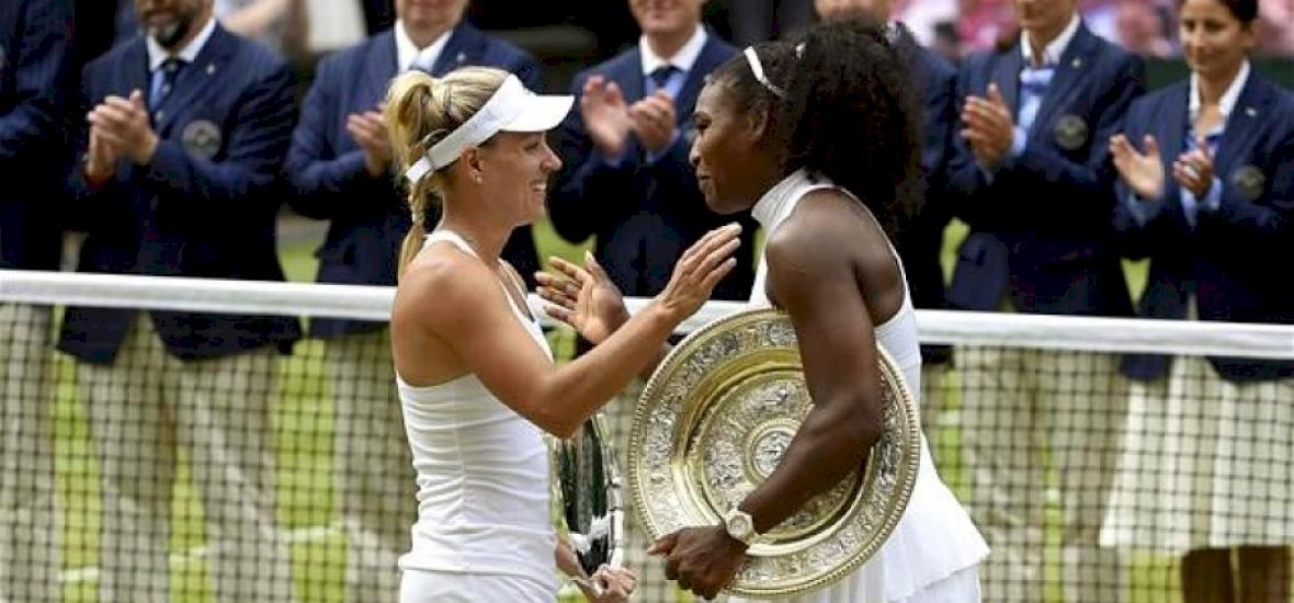 Serena Williams mindenkit lemosott Wimbledonban