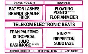 Fantasztikus fellépők a Telekom Electronic Beats Fesztiválon